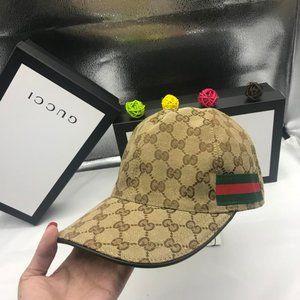Gucci Baseball Cap Hat Canvas Unisex